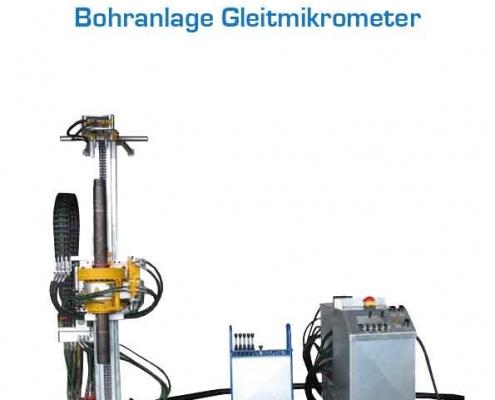 Gerätebau Wiedtal Schützeichel Bohranlage Gleitmikrometer