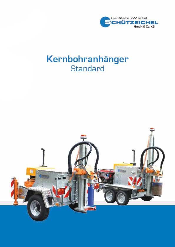Gerätebau Wiedtal Schützeichel Kernbohranhänger Standard