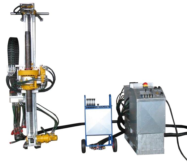 Neubau Gleitmikrometer Bohranlage